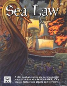 Sea Law for Iron Crown Enterprises' Rolemaster system
