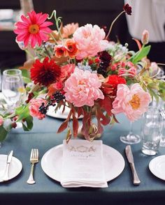 One more beauty from this fall wedding, currently featured in @martha_weddings…