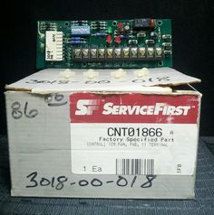 New In Box OEM Johnson Controls G67AG3 CNT01012 Spark