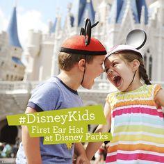First Ear Hat at Disney Parks #DisneyKids