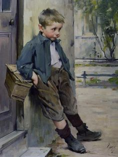 Out of the Game, Henry-Jules-Jean Geoffroy. French (1853 - 1924)