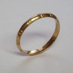 Object Inscription:+ GOD HELP AMEN (repeated) Period:Medieval Date Range:14th - 15th centuryPrimary Material:Gold