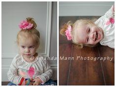 Children's & infant photo session, studio Bow: Tenley Rose Bowtique Photography: Amanda Mann Photography
