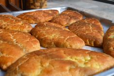 Greek Dishes, Dessert Recipes, Desserts, Greek Recipes, No Cook Meals, Hot Dog Buns, Food To Make, Bakery, Cooking Recipes