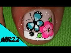 Feet Nail Design, Feet Nails, Manicure And Pedicure, Nail Designs, Lily, Nail Art, Youtube, Amanda, Ideas