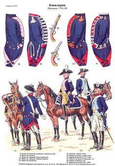 SOLDIERS- Rousselot: 1786- France: (#59)