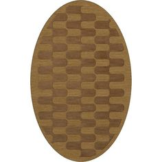 Dalyn Rug Co. Dover Gold Dust Area Rug Rug Size: Oval 10' x 14'