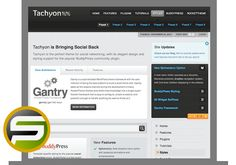 Tachyon WordPress Theme  DOWNLOAD THEME: http://smartonlinepros.com/get/rockettheme/ Developed and designed by RocketTheme one of the top premium WP themes developer.