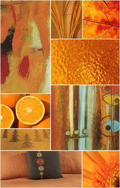 Orange Color Collage by Ashley Furniture HomeStore
