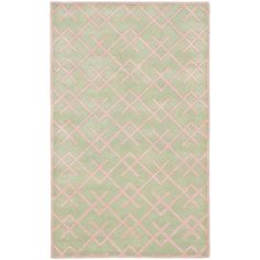 Safavieh Handmade Moroccan Chatham Light Pink Wool Rug (5' x 8') | Overstock.com Shopping - The Best Deals on 5x8 - 6x9 Rugs