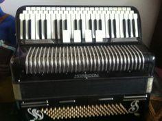 Morbidoni - Button - Piano-effect (1930s)- Castelfidardo, Italy