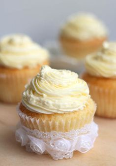 Magnolia Bakery Vanilla Cupcakes by the Little Teochew