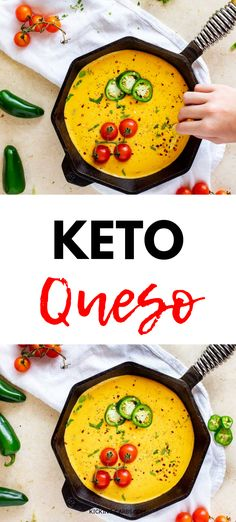 Looking for the best ever Keto Queso? It is so easy to make and full of flavor. With cheesy goodness and a kick of heat, this simple low carb appetizer never fails to satisfy. Cheese dip has never been so delicious. Low Carb Appetizers, Low Carb Desserts, Appetizer Recipes, Low Carb Recipes, Snack Recipes, Dessert Recipes, Appetizer Ideas, Party Appetizers, Free Recipes