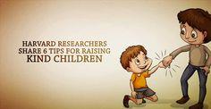 Harvard Researchers Share 6 Tips For Raising Kind Children