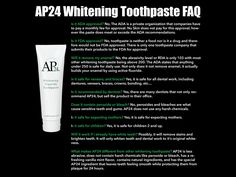 You can replace your old toothpaste with this new whitening toothpaste I'm sure you will love it! I will invoice actual shipping once I receive the product. Nuskin Toothpaste, Ap 24 Whitening Toothpaste, Health Day, Beauty Hacks, Beauty Tips, Beauty Products, Hair And Nails, Drugs, Nu Skin