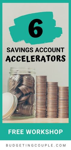 Free Workshop: Savings Account Accelerator - Finance tips, saving money, budgeting planner Saving Money Quotes, Money Saving Challenge, Money Saving Tips, Money Hacks, Money Tips, Save Money On Groceries, Ways To Save Money, Money Plan, Making A Budget