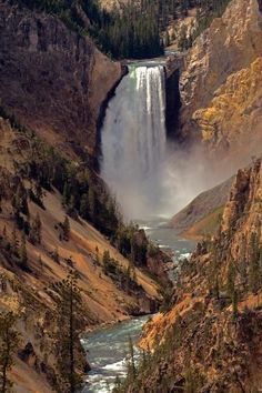 Grand Canyon of the Yellowstone, Wyoming-- i need to roadtrip! I've been here, but never saw this. Guess I'm going back!