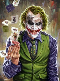 The best joker ever - such an amazing commitment to the role