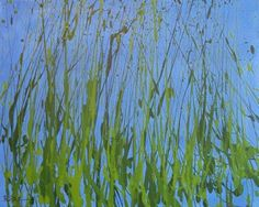 Leaves Of Grass Painting  - Leaves Of Grass Fine Art Print