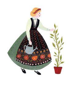 Becca  Stradtlander - Illustration