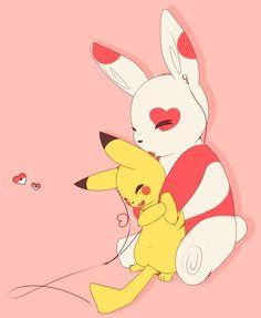 Cute Pokemon-Fanart by snofu.