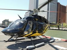 Our luxury Bell 407 at the Downtown Manhattan Heliport! www.zipover.com
