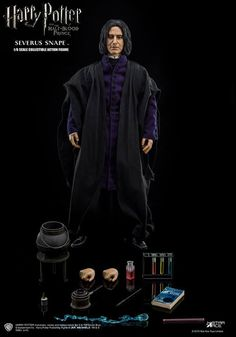 onesixthscalepictures: Star Ace Toys Harry Potter SEVERUS SNAPE : Latest product news for 1/6 scale figures (12 inch collectibles).