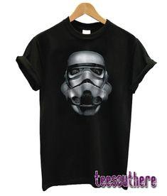 Star Wars Stormtrooper Battle Worn Helmet Graphic T-Shirt Stormtrooper T Shirt, Girl Style, Tees, Shirts, Battle, Helmet, Star Wars, Workout, Mens Tops