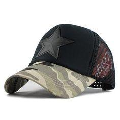 a13b221c0e5 Camouflage Baseball Cap Swag Desert Camo