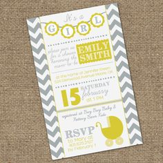diy baby girls onsie shower invitation template from