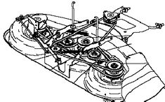 282040179805 furthermore John Deere 111 Mower Deck Parts Diagrams additionally Wiring Diagram For John Deere X540 further John Deere Electromag ic PTO Clutch Assembly AM121972 moreover T4816886 1995 john deere gt 275 garden tractor id. on john deere l100 mower blades