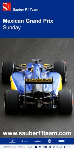 A difficult Mexican Grand Prix for us as both drivers struggled with brake issues throughout the race. Read our race report on sauberf1team.com/en/ - #MexicoGP #SauberF1Team #JoinOurPassion #F1 #Formula1 #FormulaOne #motorsport