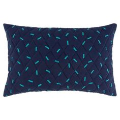 Hollis Cushion 40x60cm  Blue