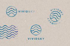 VIVIDSKY by Alan Coria, via Behance