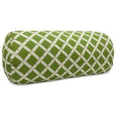 Bamboo Round Bolster Pillow