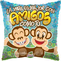 #Feliz #Inicio de #Semana #Amigos les deseamos #Exitos y #Bendiciones!! #Globos #Metalizados #Amistad!!!