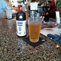 Pre flight beverage #wdw #sunkingbeer