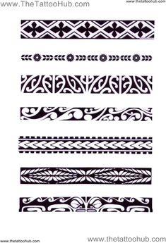 polynesian armband - Google Search Más