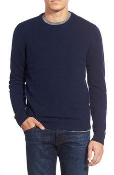 1901 Mélange Knit Merino Wool & Cashmere Sweater- large