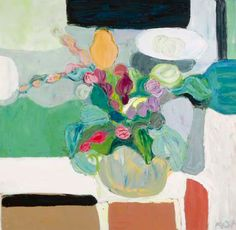 "Roger Mühl""Bouquet sur la table""Oil on canvas Art And Illustration, Illustrations, Paintings I Love, Easy Paintings, Art Floral, Painter Artist, Still Life Art, Musa, Love Art"