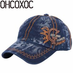 Men's Hats Lovely Ohcoxoc Women Girl New Casual Baseball Cap Hat 100% Handmade Painting Style Novelty Butterfly Pattern Denim Cotton Fashion Caps