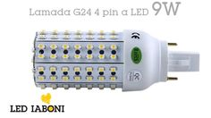 Lampada G24 4Pin a LED 9W - 6000K