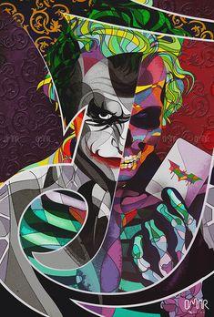 Drawing Superhero The Joker Skull art on Behance - Joker Images, Joker Pics, Joker Art, Joker Batman, Batman Dark, Gotham Batman, Batman Robin, Joker Cartoon, Drawing Cartoon Characters