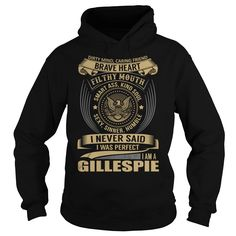 GILLESPIE Last Name, Surname T-Shirt