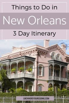 Planning to visit New Orleans in a weekend? Here's a complete guide and itinerary for spending 3 days and soaking up the essence and energy of the Big Easy. Weekend Getaways For Couples, Couples Vacation, Weekend Trips, Vacation Spots, Visit New Orleans, New Orleans Travel, Top Travel Destinations, Travel Tips, Budget Travel