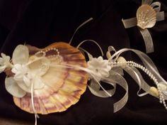 Beach Wedding Ring Bearer Lion's Paw Seashell Ring by artseero, $25.00