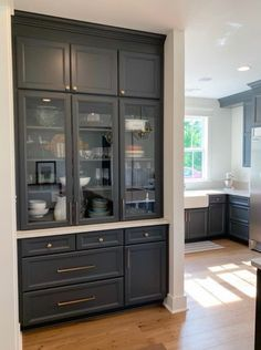 Kitchen Buffet and Hutches . Kitchen Buffet and Hutches . Kitchen Redo, Kitchen Pantry, Kitchen Remodel, Kitchen Cabinets, Kitchen Buffet Cabinet, Kitchen Built Ins, Pantry Design, Cabinet Design, Kitchen Design
