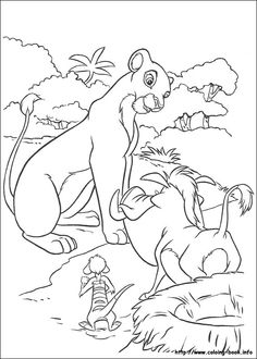 The Lion King Coloring Picture