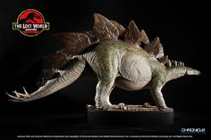Chronicle Collectibles has shared the first photos and info for their upcoming Lost World: Jurassic Park Replica Stegosaurus Maquette. The Stegosaurus is molded from the original maquette created by Stan Winston Studio and was painted to match the original design. TheStegosaurus measures in at 30″ long, 16″ tall and 10.5″ wide and will include a themed base. The base itself measures 14″ x 10.5″ x 2″. Pre-orders for the Lost World Replica Stegosaurus Maquette begin on Friday, April 15th at…