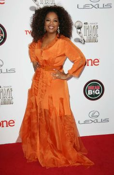 Oprah Winfrey attended the NAACP Image Award at the Pasadena Civic Auditorium in Pasadena, California on February 22, 2014